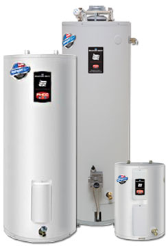 types of water heaters that our team can deal with